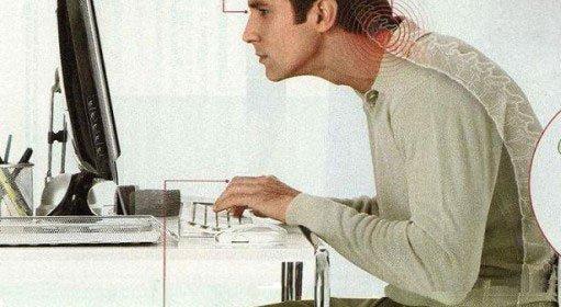 ufficio postura sbagliata