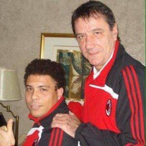 Sebastiano genovese con Ronaldo