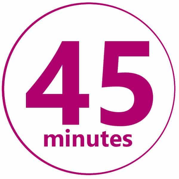 45 minuti