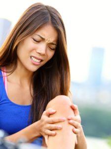 dolore ginocchio tennis