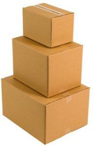 pila di scatoloni