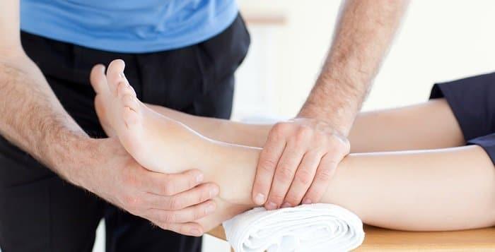 fisioterapia piede