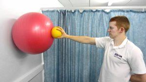 lavoro propriocettivo per la spalla
