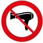 non usare il phon