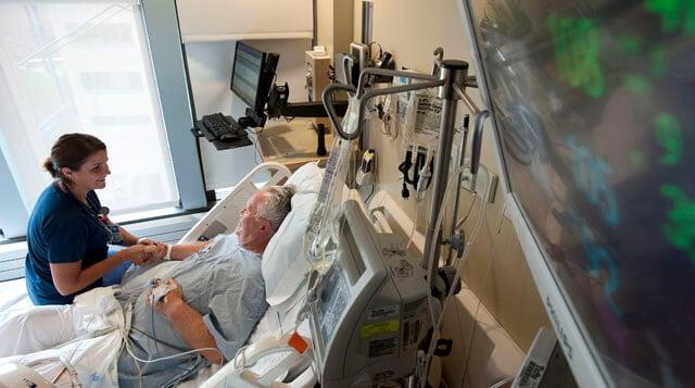 paziente con problemi neurologici