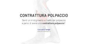 contrattura muscolare polpaccio