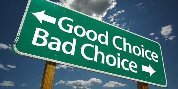buona o cattiva scelta