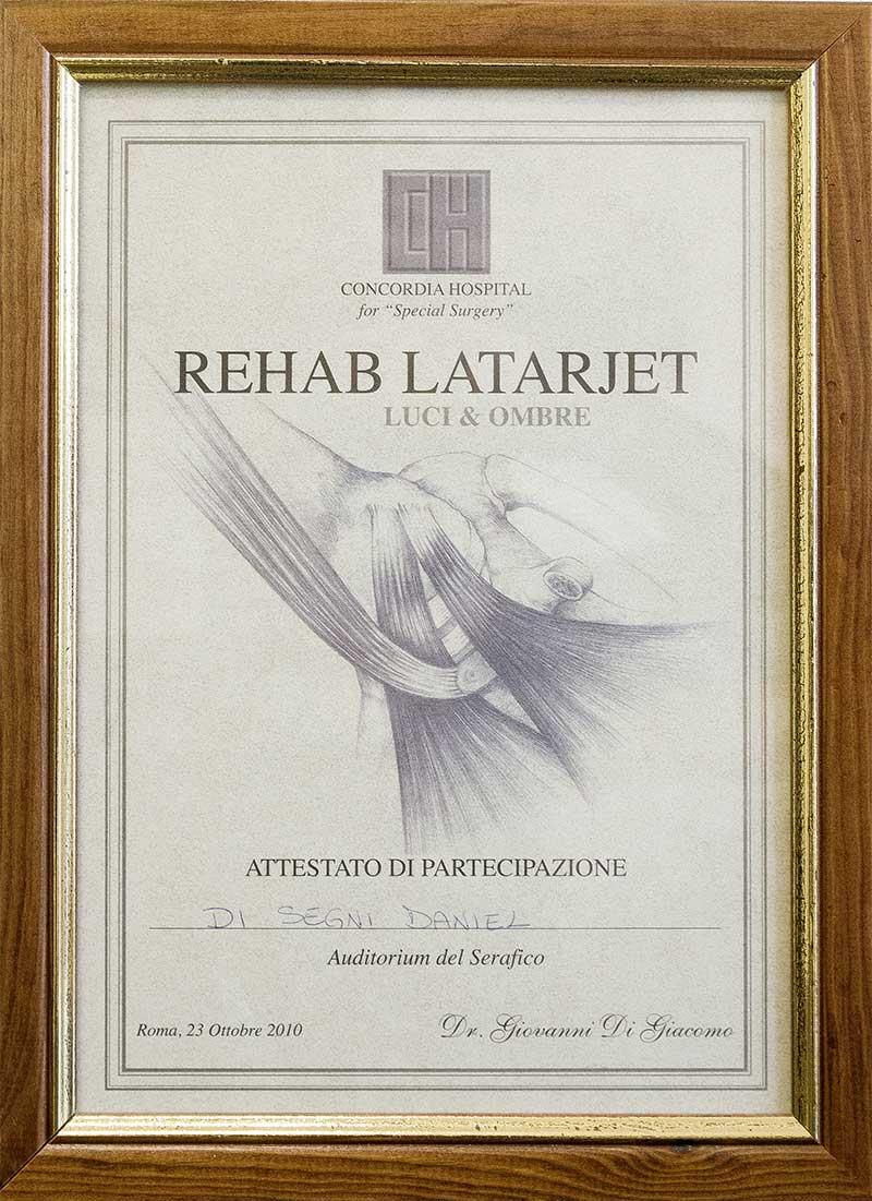 Rehab Latarjet