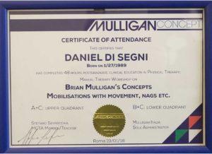 certificato mulligan