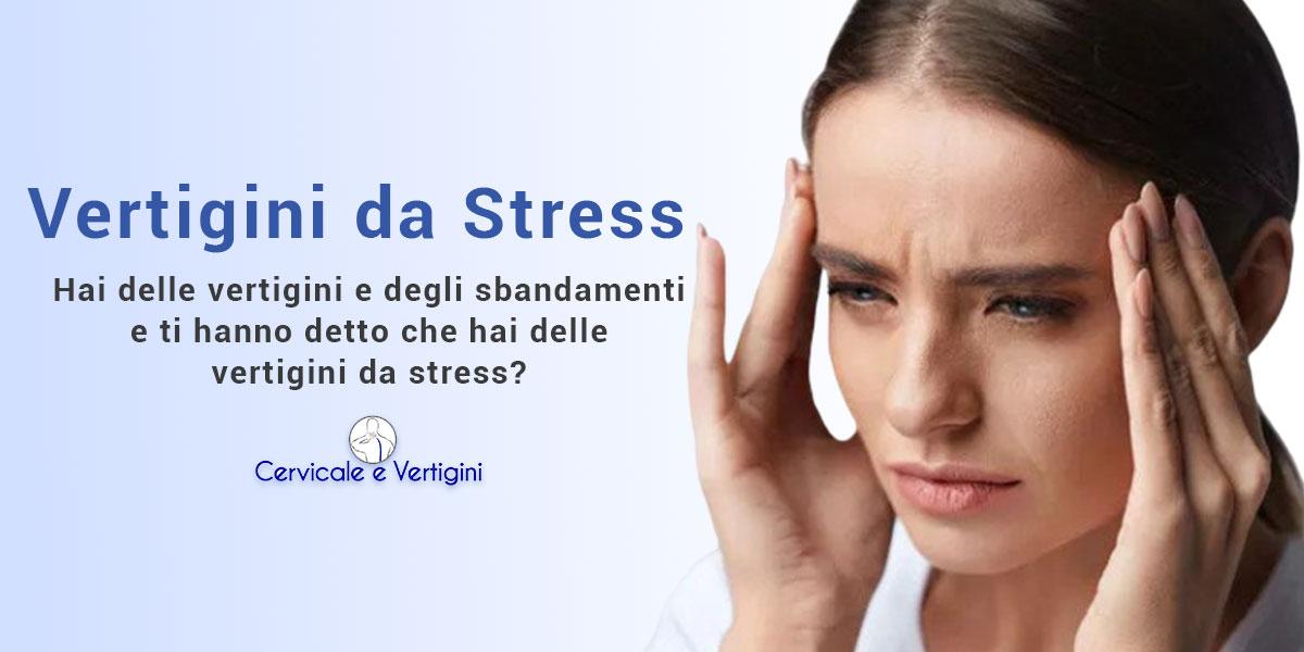 Vertigini da stress