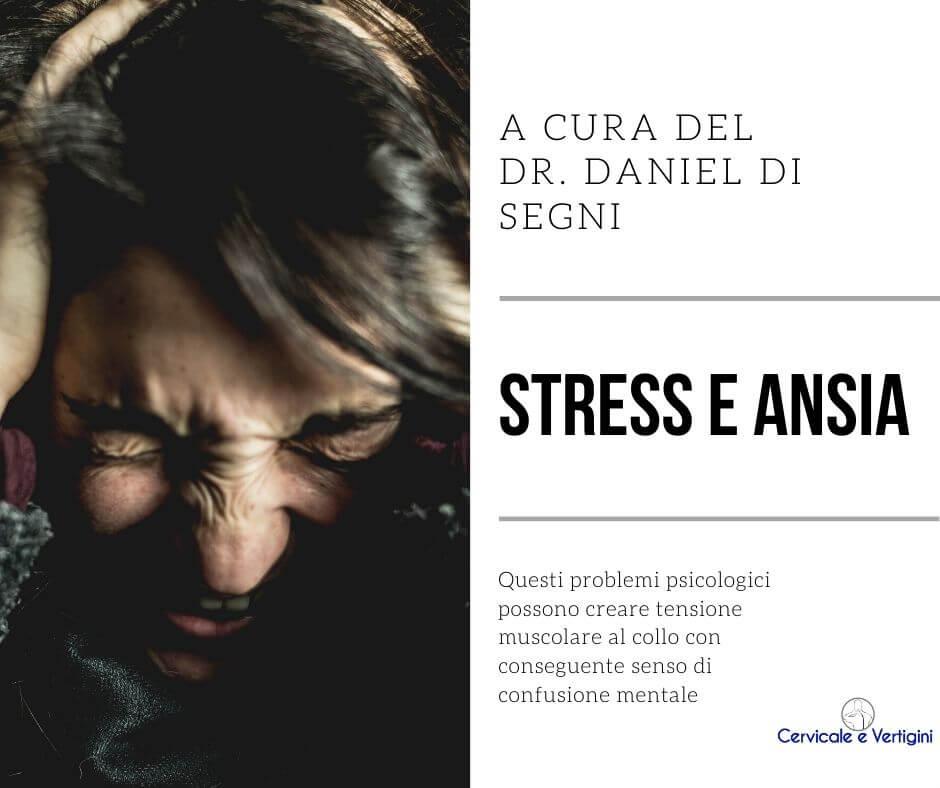 Senso di confusione Stress